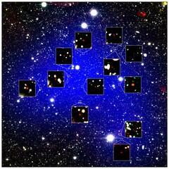 地球から最も遠い銀河群(NAOJ)